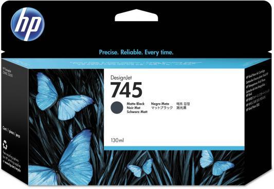 Картридж HP 745 F9J99A для HP DesignJet черный картридж hp 745 f9j98a 130ml для hp designjet черный