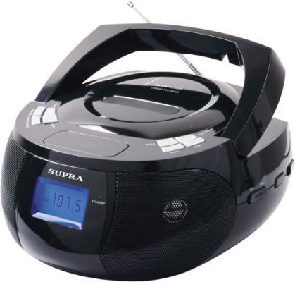 Магнитола Supra BB-33MUS черный supra mts 211
