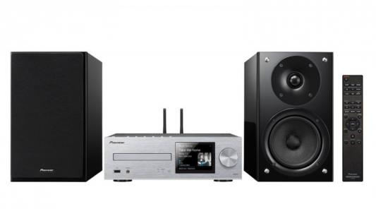 Микросистема Pioneer X-HM86D-S 130Вт серебристый/черный музыкальный центр pioneer x hm86d s серебристый