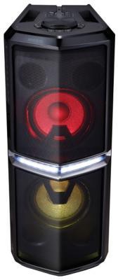 Минисистема LG FH6 600Вт черный минисистема lg cj45