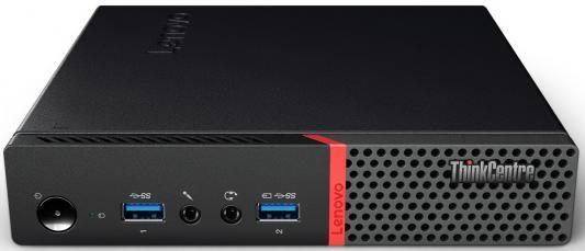 Неттоп Lenovo ThinkCentre M700 Tiny Intel Core i5-6400T 4Gb 500Gb Intel HD Graphics DOS черный 10HY003TRU lenovo v110 15isk [80tl000nrk] black 15 6 hd i5 6200u 4gb 500gb dvdrw dos