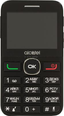 """Мобильный телефон Alcatel Tiger XTM 2008G черный серебристый 2.4"""" 16 Мб"""