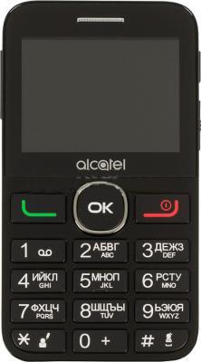 Мобильный телефон Alcatel Tiger XTM 2008G белый черный 2.4 16 Гб мобильный телефон alcatel tiger xtm 2008g серебристый 2008g 3balru1