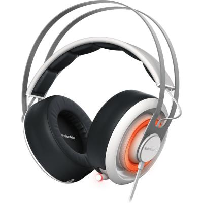 Гарнитура SteelSeries Siberia 650 белый/черный 51192 steelseries siberia 800