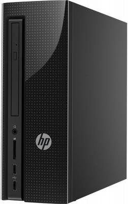 Компьютер HP 260-p131ur Intel Core i3-6100T 4Gb 500Gb Intel HD Graphics 530 Windows 10 Home черный Z0K28EA ноутбук hp 15 bs027ur 1zj93ea core i3 6006u 4gb 500gb 15 6 dvd dos black