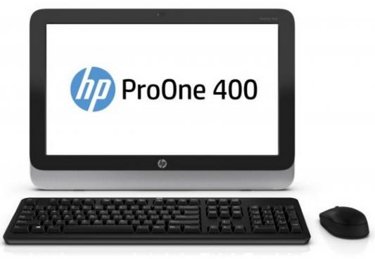 "HP ProOne 400G2 20"" AIO  NT i3-6100T   4GB  128 SSD   W10dgW7p64 SuperMulti DVD   1yw  wty   USB Slim kbd   USBmouse   Easel Stand 802.11n  BT (Repl T4R07EA)"