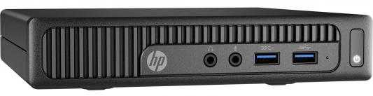 Неттоп HP 260 G2 DM Intel Core i3-6100U 4Gb SSD 256 Intel HD Graphics 520 DOS черный Z2K02ES