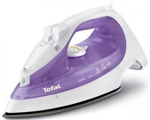 Утюг Tefal FV2548E0 2200Вт фиолетовый утюг tefal turbo pro fv5630e0