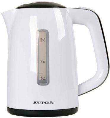 Чайник Supra KES-1728 2200 Вт белый серый 1.7 л пластик