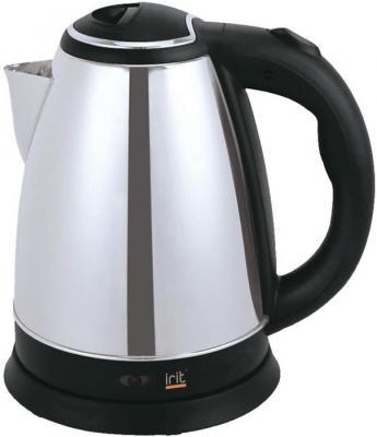 Чайник Irit IR-1331 1500 Вт серебристый чёрный 1.8 л нержавеющая сталь