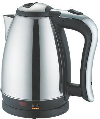 Чайник Irit IR-1321 1500 Вт стальной чёрный 1.8 л нержавеющая сталь недорого