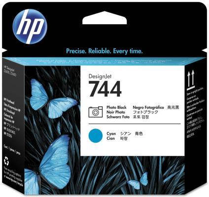 Печатающая головка HP 744 F9J86A для HP Designjet Z2600 Z5600 черный синий печатающая головка hp 744 f9j87a для hp designjet z2600 z5600 желтый пурпурный