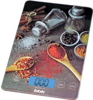 Весы кухонные BBK KS100G чёрный