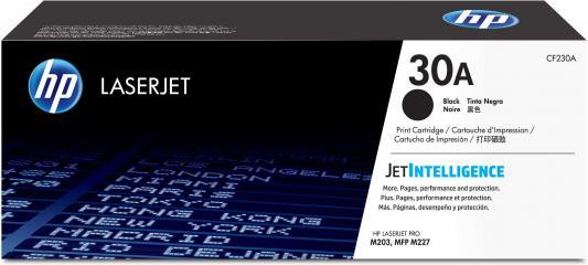Картридж HP 30A CF230A для HP LaserJet Pro M203/M227 черный