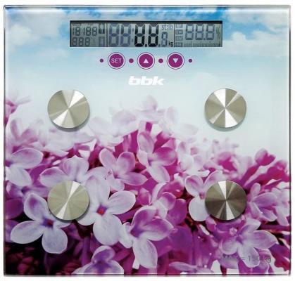 Весы напольные BBK BCS7000 фиолетовый розовый