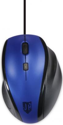 Мышь проводная Jet.A Comfort OM-U59 синий USB