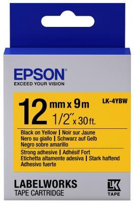 Лента Epson LK-4YBW для Epson LabelWorks C53S654014 epson labelworks lw 400