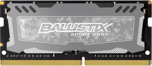 Оперативная память для ноутбуков SO-DDR4 8Gb PC4-19200 2400MHz Crucial BLS8G4S240FSD