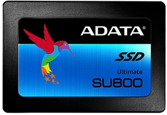 Твердотельный накопитель SSD 2.5 128GB A-Data Ultimate SU800 Read 560Mb/s Write 300Mb/s SATAIII ASU800SS-128GT-C жесткий диск 128gb a data ultimate su800 m 2 2280 asu800ns38 128gt c