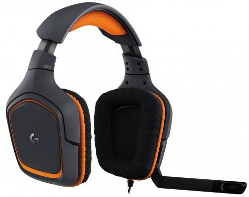 Гарнитура Logitech Headset G231 черный 981-000627