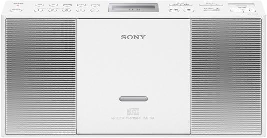 Магнитола Sony ZS-PE60 белый cd магнитола sony zs pe60