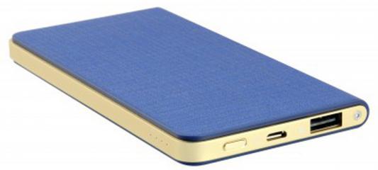 Портативное зарядное устройство IconBIT FTB5000SLS 5000mAh синий