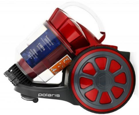 Пылесос Polaris PVC1730СR сухая уборка красный пылесос polaris pvc1730сr сухая уборка фиолетовый