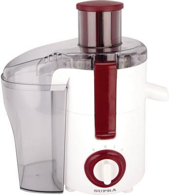 Соковыжималка Supra JES-1416 550 Вт пластик белый красный цена и фото