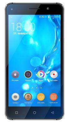 "Смартфон Texet TM-5005 графит 5"" 8 Гб Wi-Fi GPS 3G"