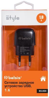 Сетевое зарядное устройство Bliss BS1404 1A черный