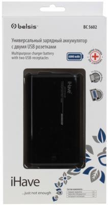 Портативное зарядное устройство Belsis BC5602 6000мАч черный