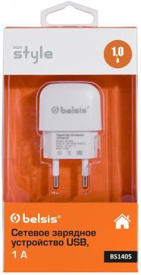 Сетевое зарядное устройство Bliss BS1405 1A белый