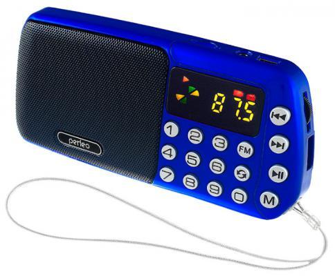 Радиоприемник Perfeo i70 Синица синий i70-BL
