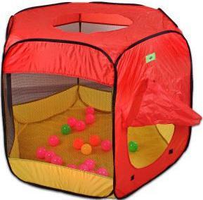 Игровая палатка Shantou Gepai Манеж с мячиками 20 шт. 113*113*90, коробка 941792