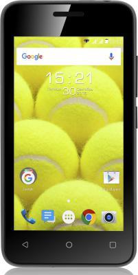 """Смартфон Fly FS407 Stratus 6 черный 4"""" 4 Гб Wi-Fi 3G"""