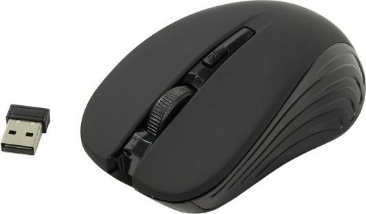 лучшая цена Мышь беспроводная Oklick 545MW чёрный USB + радиоканал