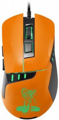 Мышь проводная Oklick 865G чёрный оранжевый USB мышь oklick 765g symbiont gm w 610