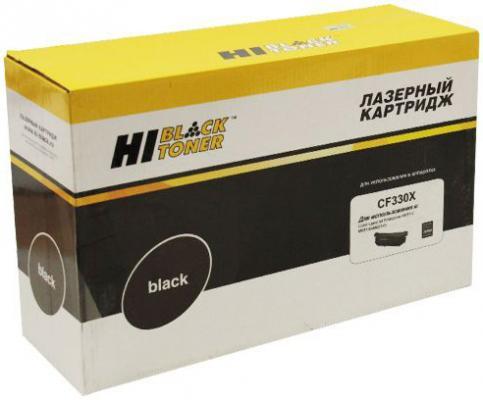 Картридж Hi-Black CF330X для HP CLJ M651n/651dn/651xh черный 20500стр картридж hp 21 c9351ae black