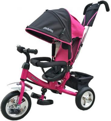 """Велосипед Moby Kids Comfort 10"""" розовый"""