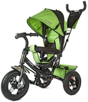 Велосипед трехколёсный Moby Kids Comfort-2 12*/10* зеленый  635200 велосипед moby kids comfort ultra 12 10 синий