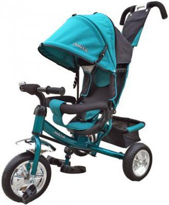 "Велосипед Moby Kids Comfort 10"" аквамарин"