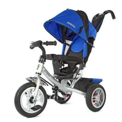 Велосипед Moby Kids Comfort-2 12*/10* синий 635204 moby kids для прыжков со звуком красный