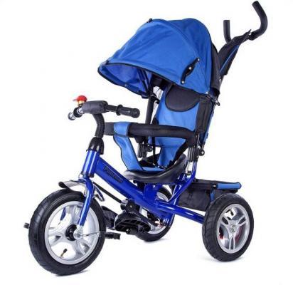 Велосипед Moby Kids Ракета 12/10 синий