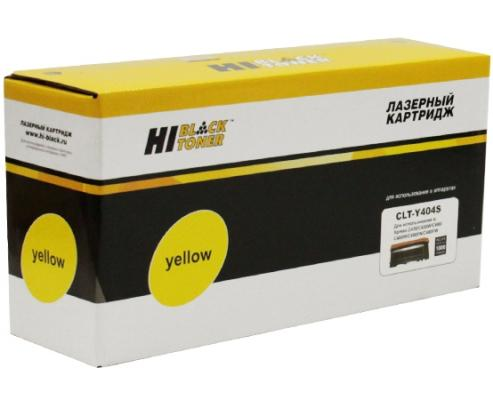 Картридж Hi-Black CLT-Y404S для Samsung Xpress SL-C430/C430W/C480/C480W/C480FW желтый 1000стр тарелка хай хэт zultan 14 aja hi hat