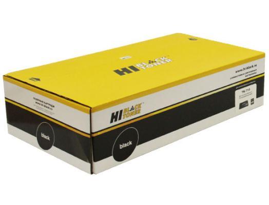 Картридж Hi-Black TK-710 для Kyocera FS-9130DN/9530DN черный 40000стр тарелка хай хэт zultan 14 aja hi hat