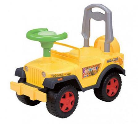Каталка-машинка Shantou Gepai LBL608-М желтый от 1 года пластик