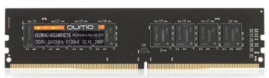 Оперативная память 8Gb PC4-19200 2400MHz DDR4 DIMM QUMO QUM4U-8G2400C16