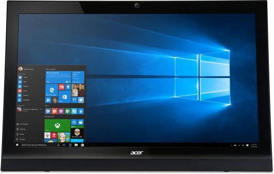 "Моноблок 21.5"" Acer Aspire Z1-622 1920 x 1080 Intel Pentium-J3710 4Gb 500Gb Intel HD Graphics 405 Windows 10 Home черный DQ.B5FER.008"