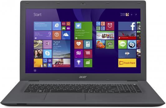 Ноутбук Acer Aspire E5-772-34B4 17.3 1600x900 Intel Core i3-5005U NX.MVBER.008 acer aspire e5 573g 32mq core i3 5005u