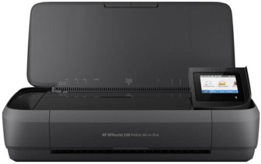 МФУ HP OfficeJet 252 N4L16C цветное A4 10/7ppm 1200x1200dpi Wi-Fi USB черный мфу hp officejet 252